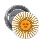 Sol de Mayo Pinback Button