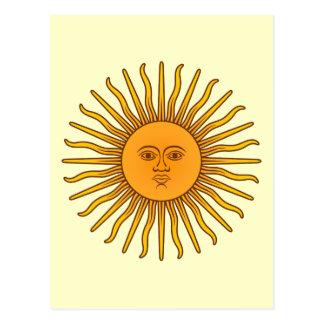Sol de Mayo Postcard