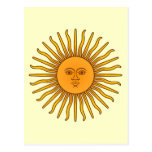 Sol de Mayo Tarjeta Postal