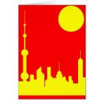 Sol de Shangai Tarjetas