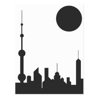 Sol de Shangai Tarjetas Postales