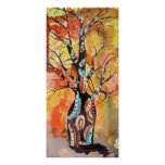 Sol del árbol de Boab Impresiones