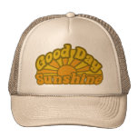 Sol del buen día gorras de camionero