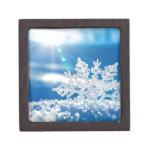 sol del copo de nieve caja de regalo de calidad