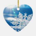 sol del copo de nieve ornamentos de reyes