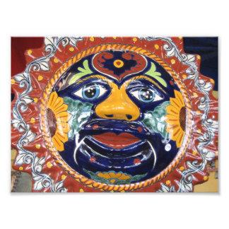 Sol del estilo de Talavera del mexicano Arte Con Fotos