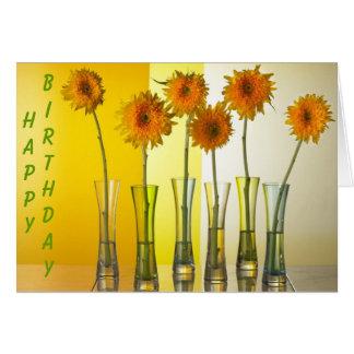 ¡Sol del feliz cumpleaños! Tarjeta Pequeña