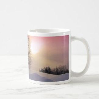 sol del invierno taza