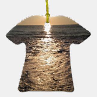Sol del océano adornos de navidad