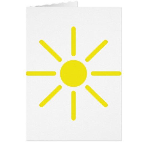 sol del sol felicitación