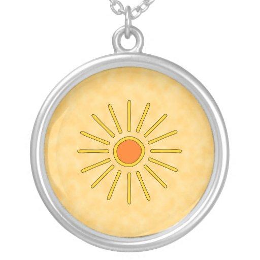 Sol del verano. Colores amarillos calientes Joyerias Personalizadas