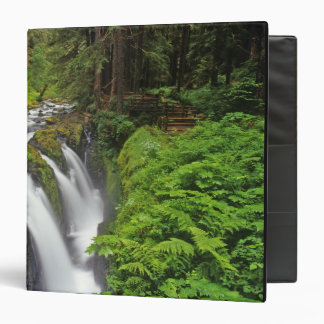 Sol Duc Falls in Olympic National Park in 2 Binder