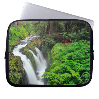 Sol Duc Falls in Olympic National Park in Laptop Computer Sleeve