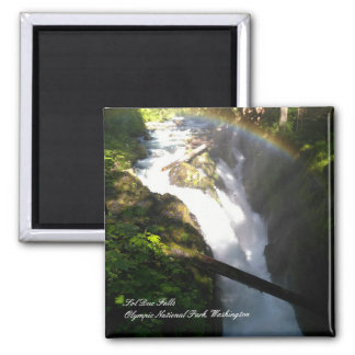 """Sol Duc Falls Olympic National Park 2"""" Magnet"""