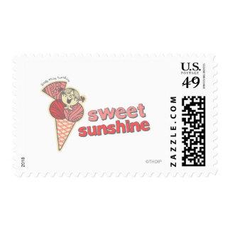 Sol dulce sello postal