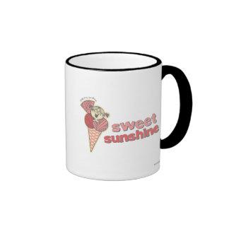 Sol dulce taza de dos colores