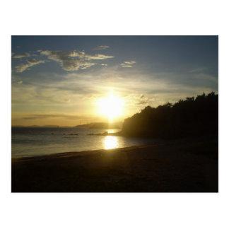 Sol en la orilla de Naoshima Postal