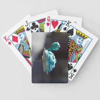 Sol en mi parte posterior baraja cartas de poker
