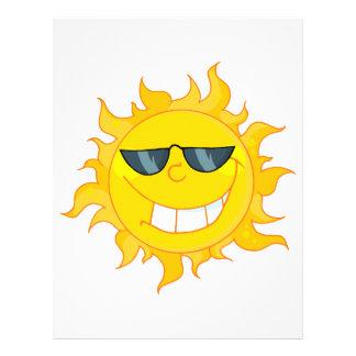 "sol fresca del sol del tipo folleto 8.5"" x 11"""