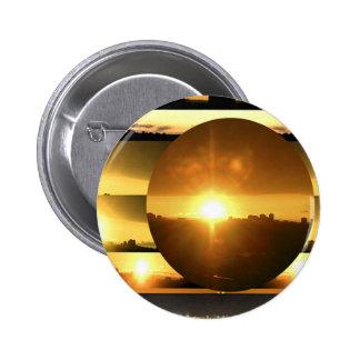 SOL - fuente de energía vital Pin Redondo 5 Cm