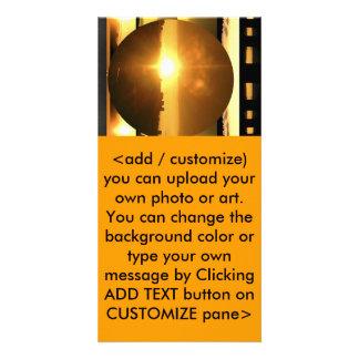 SOL - fuente de energía vital Plantilla Para Tarjeta De Foto