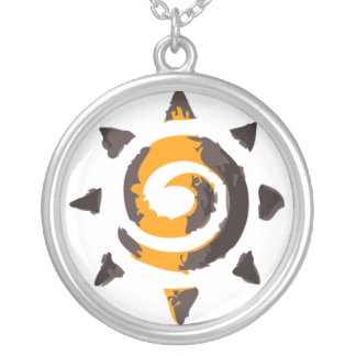 Sol Invictus #5 Silver Plated Necklace
