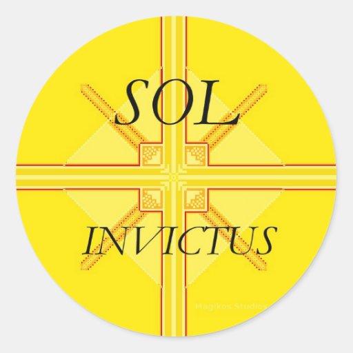 Sol Invictus Stickers