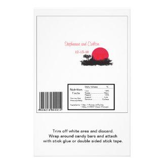 "Sol naciente japonés que casa la envoltura de la b folleto 5.5"" x 8.5"""
