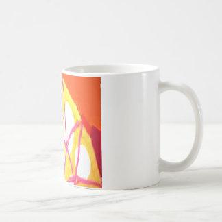 Sol naciente tazas de café
