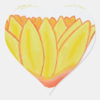 sol peddles.jpg pegatina en forma de corazón