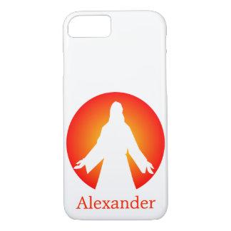 Sol poniente anaranjado colorido Jesús Funda iPhone 7