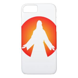 Sol poniente anaranjado Jesús Funda iPhone 7