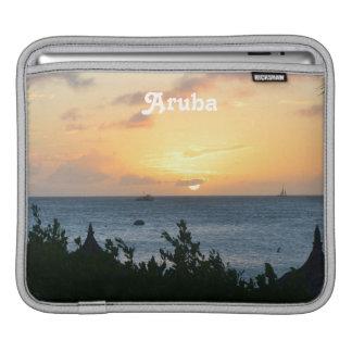 Sol poniente de Aruba Fundas Para iPads
