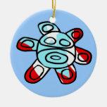 Sol Taíno Christmas Tree Ornament