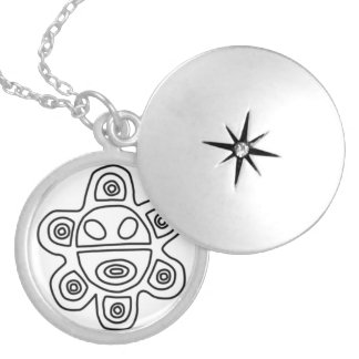 Sol Taino Silver Plated Necklace
