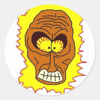 Sol: the Sun Round Sticker