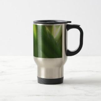 Sol verde tazas de café
