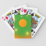sol y estrella en el universo baraja de cartas