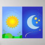 sol y luna posters