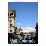 Sol y nieve Vail, Colorado Tarjeta De Felicitación