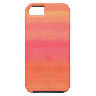 Sol-Yellow and orange ombre watercolor art iPhone SE/5/5s Case