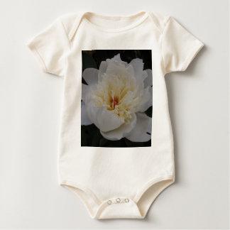 Sola camelia blanca trajes de bebé