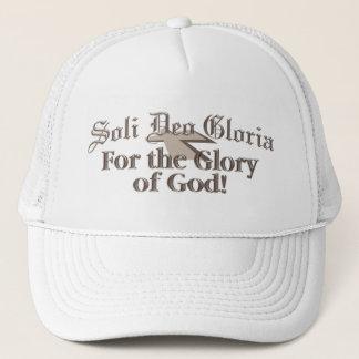 Sola Deo Gloria-cap Trucker Hat