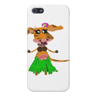 Sola, el hula-hula moo-cow. iPhone 5 protectores
