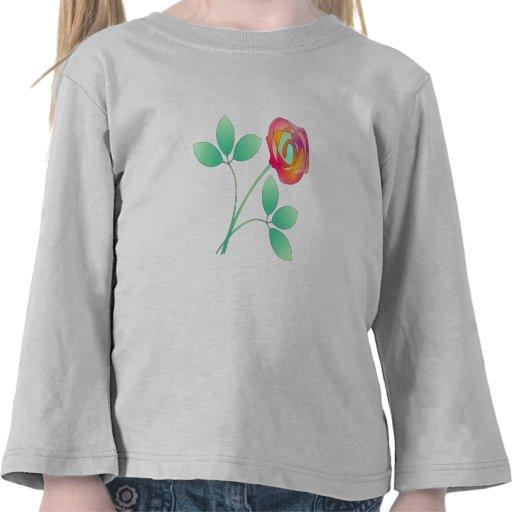 Sola flor camiseta