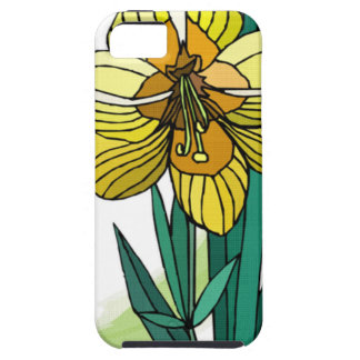 Sola flor del narciso iPhone 5 protector