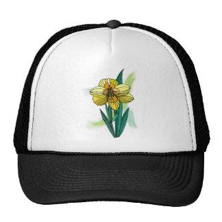 Sola flor del narciso gorro
