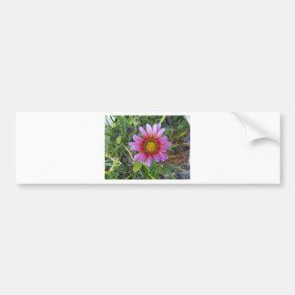 Sola flor etiqueta de parachoque