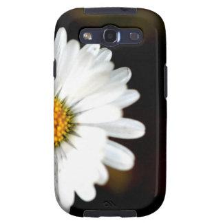 Sola flor salvaje de la margarita galaxy s3 carcasa