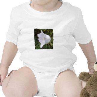 sola floración pálida traje de bebé